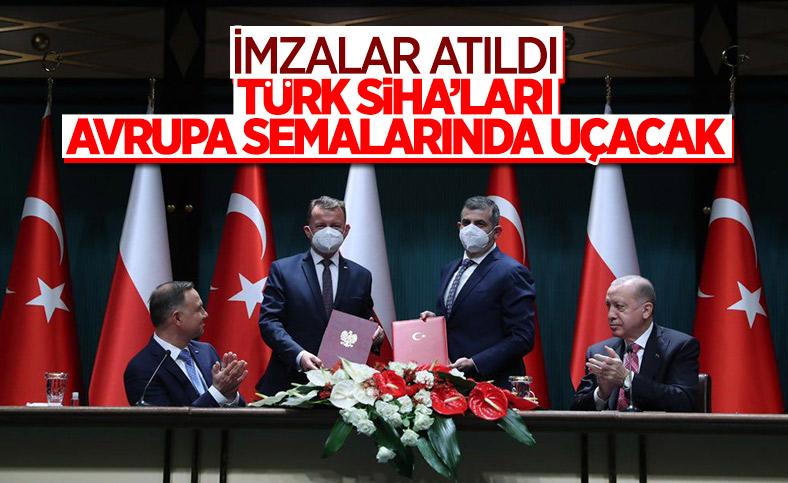 Cumhurbaşkanı Erdoğan ile Polonya Cumhurbaşkanı'ndan ortak açıklama
