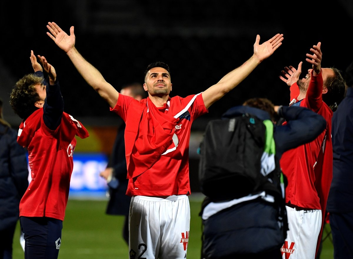Lille, Fransa Ligue 1'de şampiyon oldu #5
