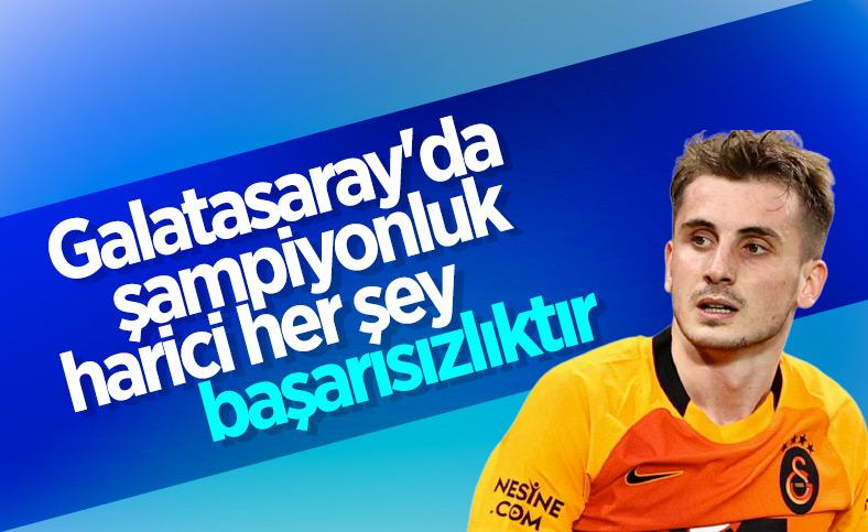 Kerem Aktürkoğlu: Galatasaray'da şampiyonluk harici her şey başarısızlıktır