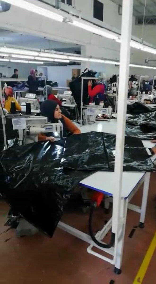 Samsun dan ABD'ye 1,5 milyon ceset torbası gitti #3