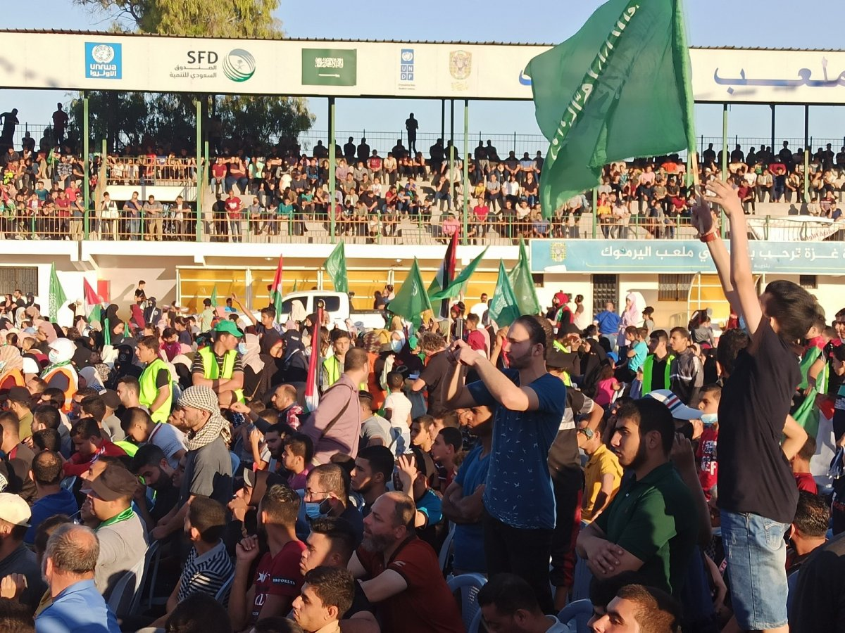 Hamas, Gazze Şeridi'nde şehit olanlar adına toplu anma töreni düzenledi #6