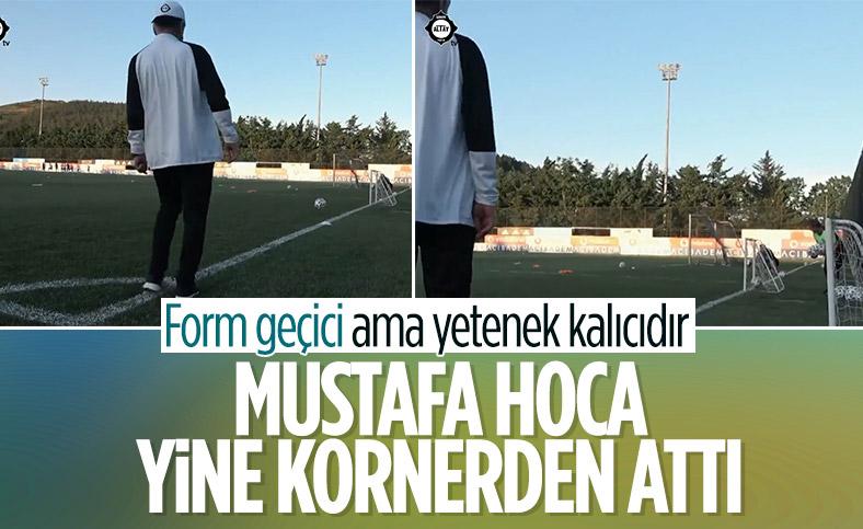 Mustafa Denizli'den korner golü