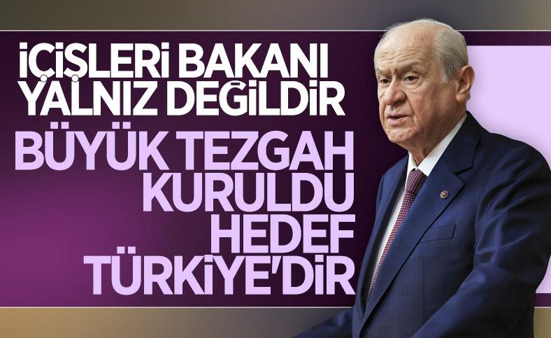 Devlet Bahçeli: Herkesi uyarıyorum, hedef Türkiye'dir