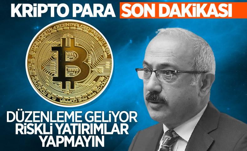 Lütfi Elvan açıkladı: Kripto para düzenlemesi geliyor