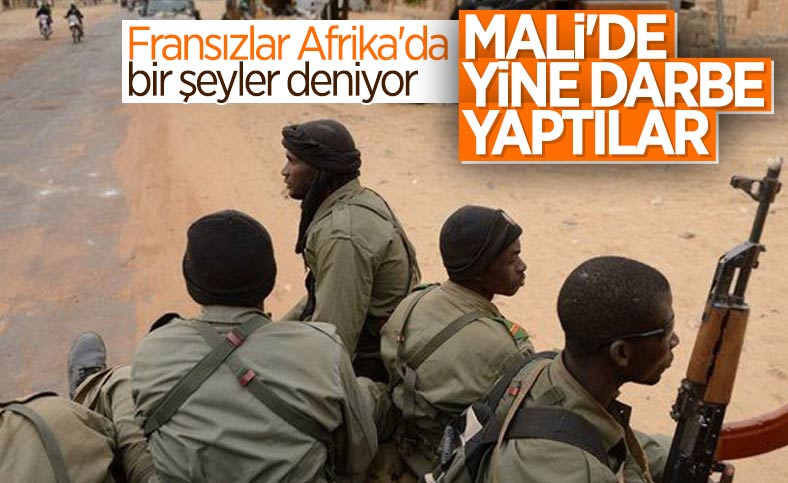 Mali'de Geçiş Konseyi'ne askeri darbe
