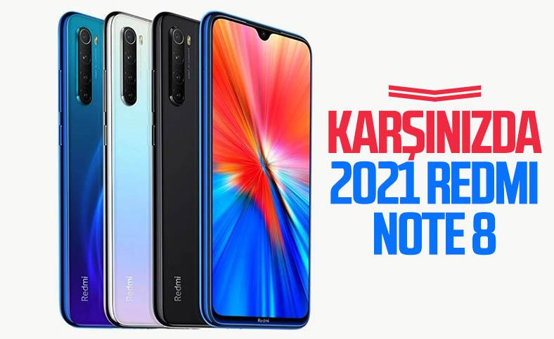 2021 Redmi Note 8 tanıtıldı: İşte özellikleri