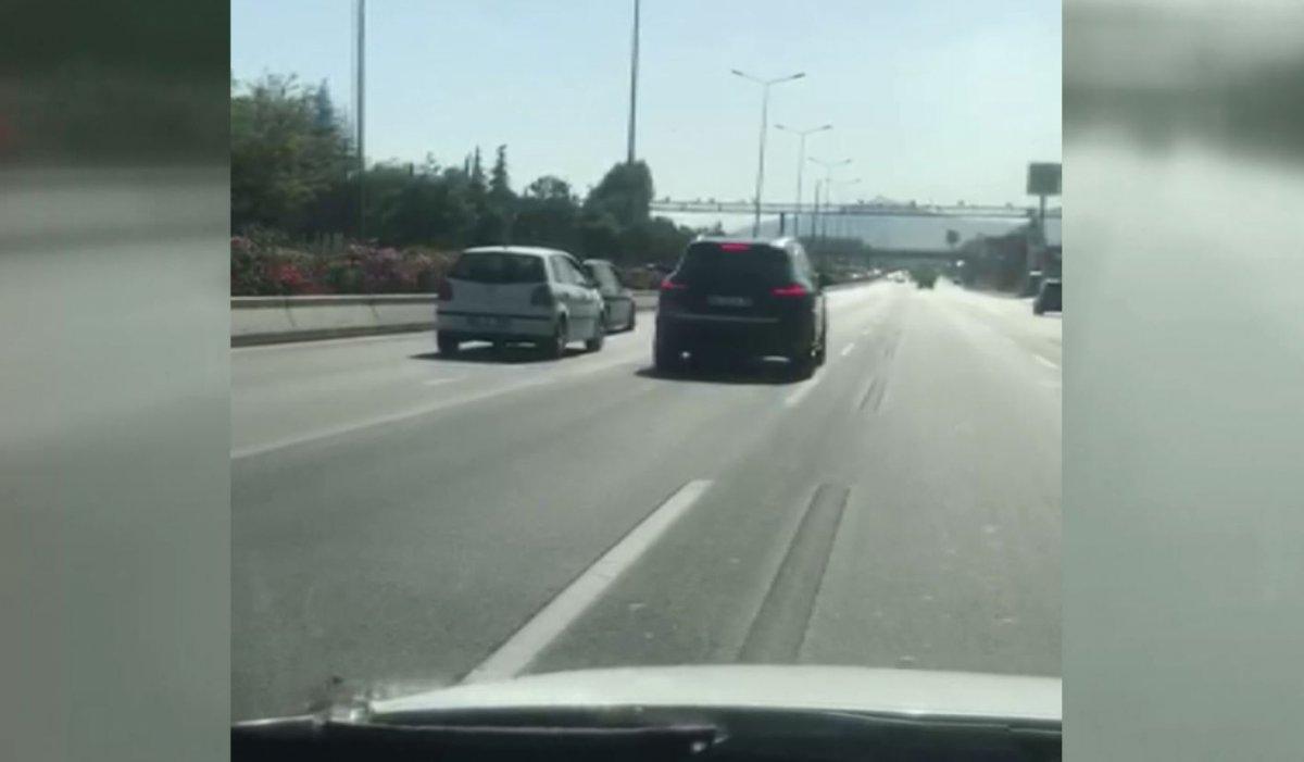 Ankara trafiğinde tehlikeli tartışma #2