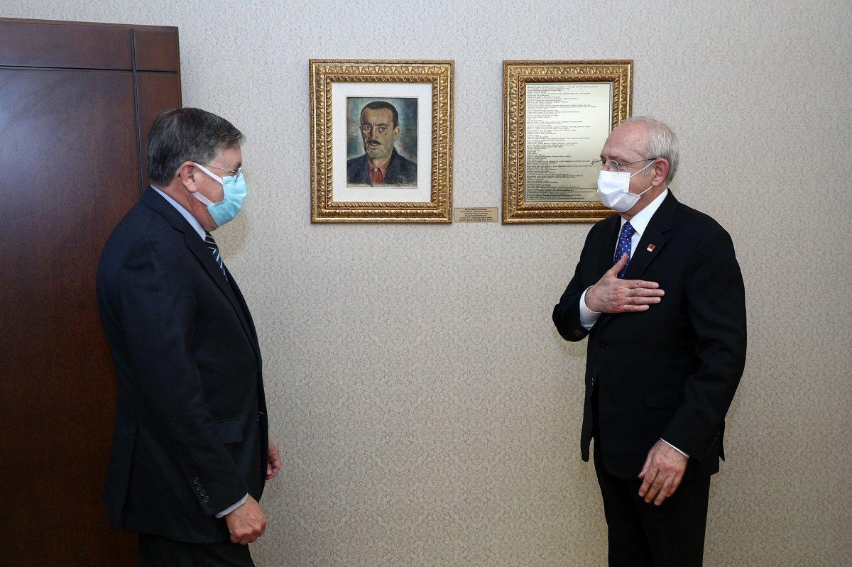 Kemal Kılıçdaroğlu, ABD nin Türkiye Büyükelçisi ile görüştü #2