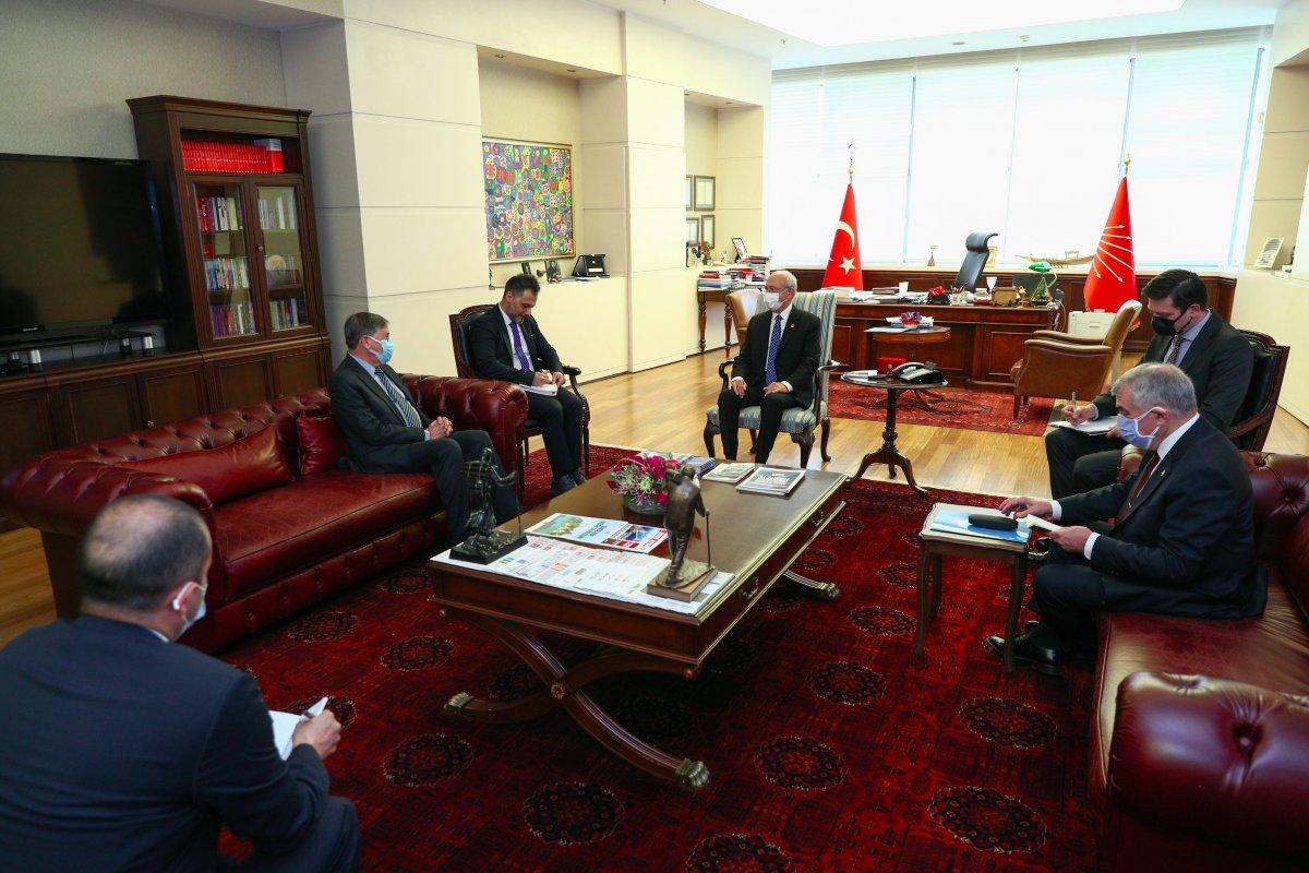 Kemal Kılıçdaroğlu, ABD nin Türkiye Büyükelçisi ile görüştü #3