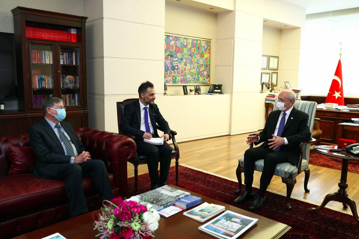 Kemal Kılıçdaroğlu, ABD nin Türkiye Büyükelçisi ile görüştü #1