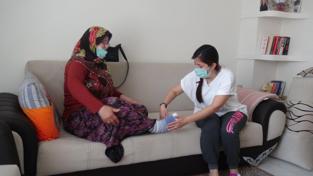 Balıkesir de engelli kadına darp: Bana çok işkence yaptılar  #2