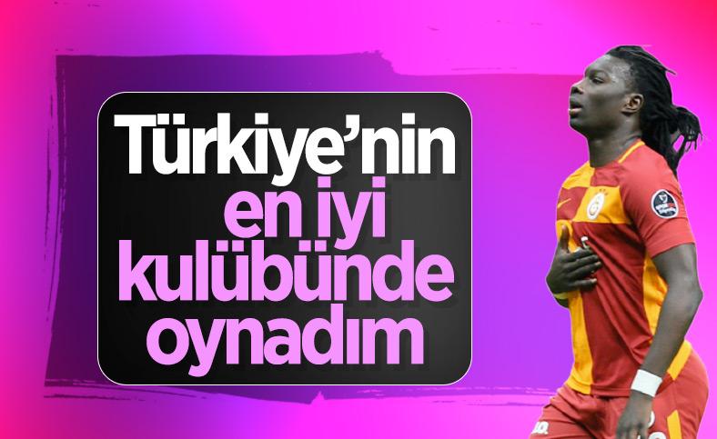Gomis: Türkiye'nin en iyi kulübünde oynadım