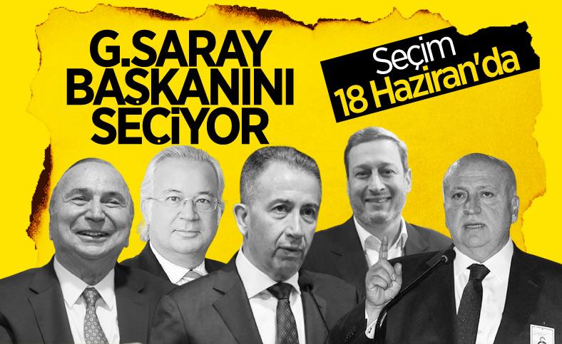 Galatasaray'da başkanlık seçimi 18 Haziran'da yapılacak