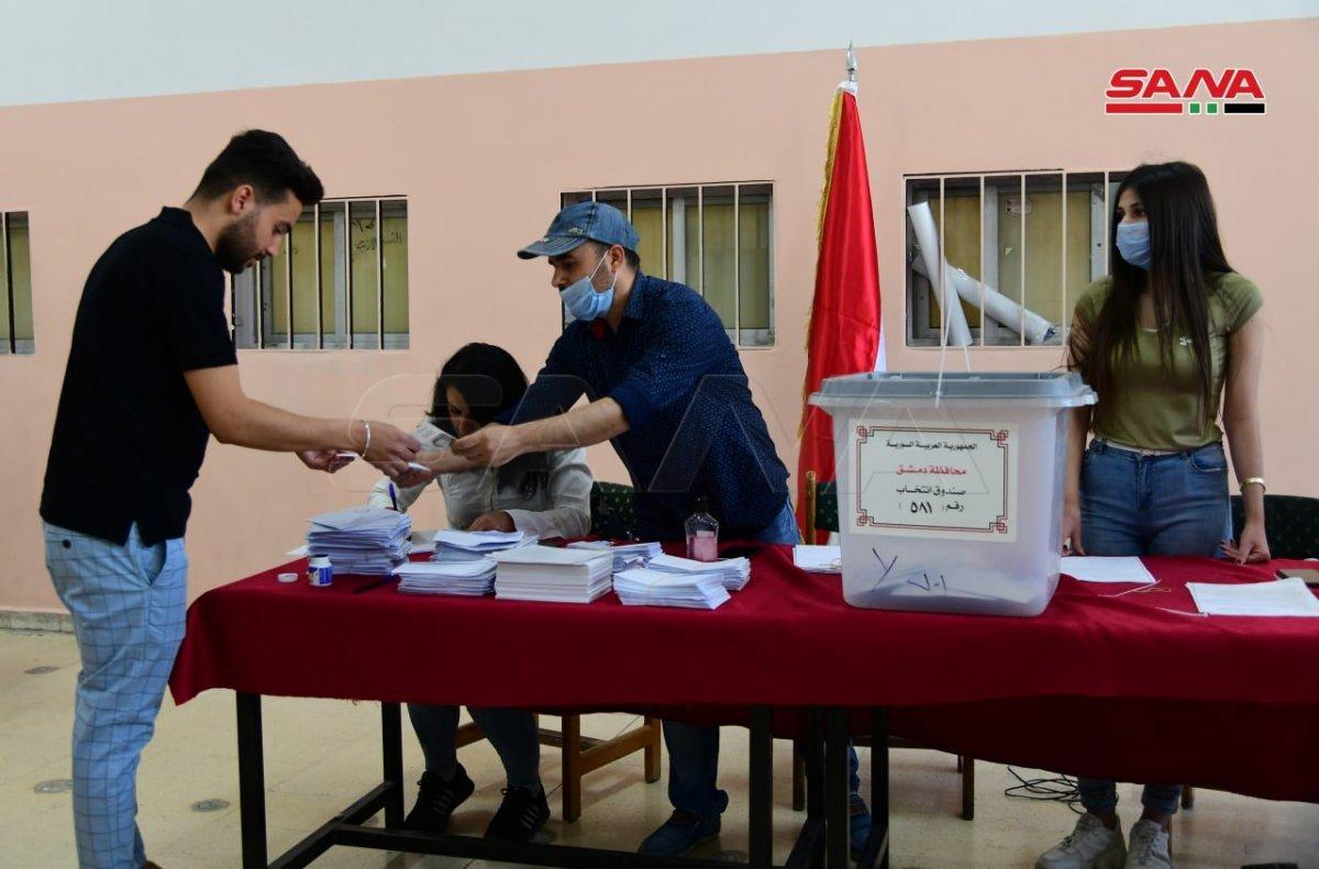 Suriye de devlet başkanlığı seçimleri başladı #3