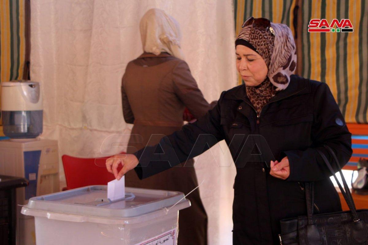 Suriye de devlet başkanlığı seçimleri başladı #4