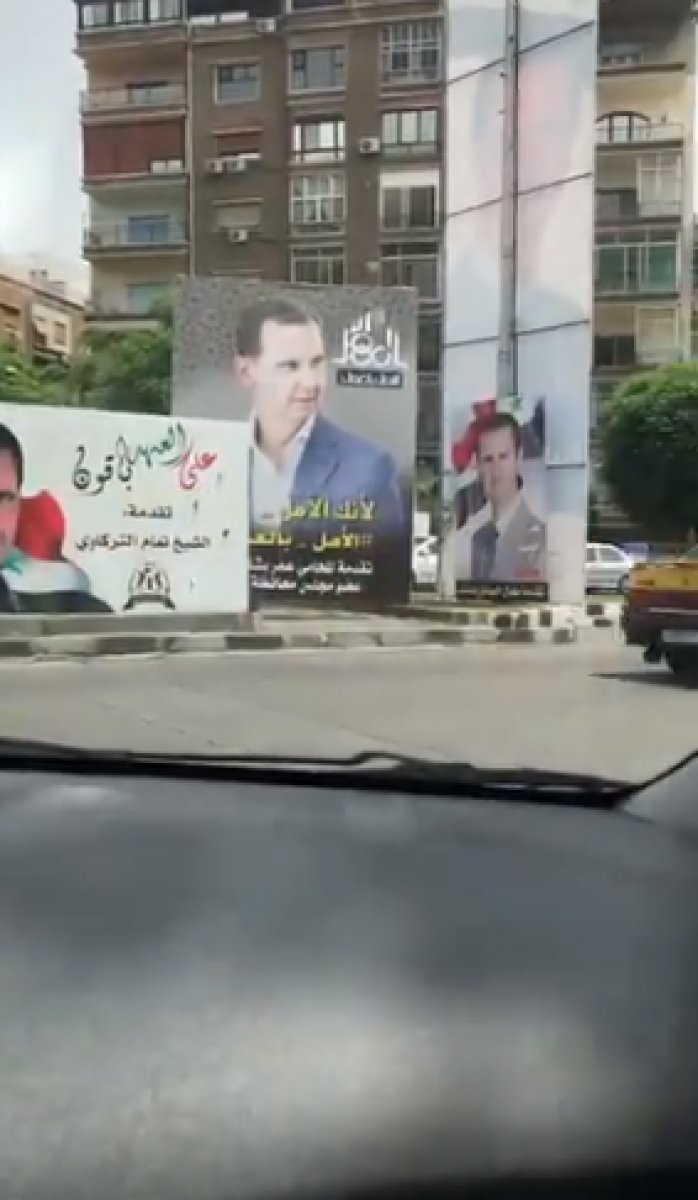 Suriye de devlet başkanlığı seçimleri başladı #7