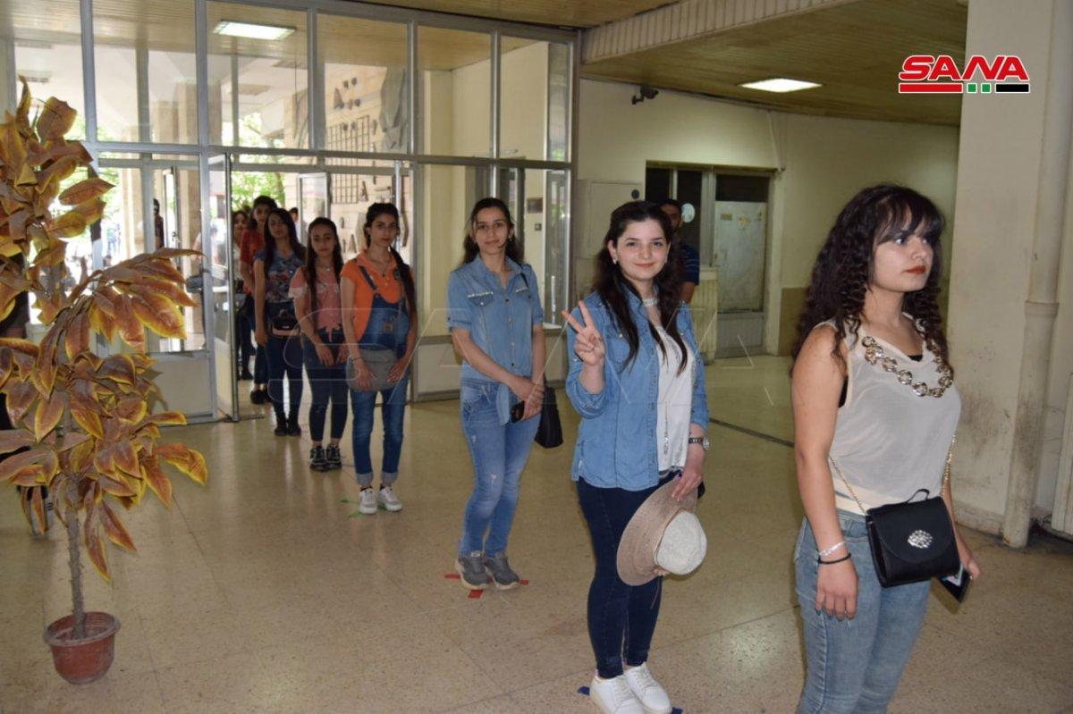Suriye de devlet başkanlığı seçimleri başladı #2