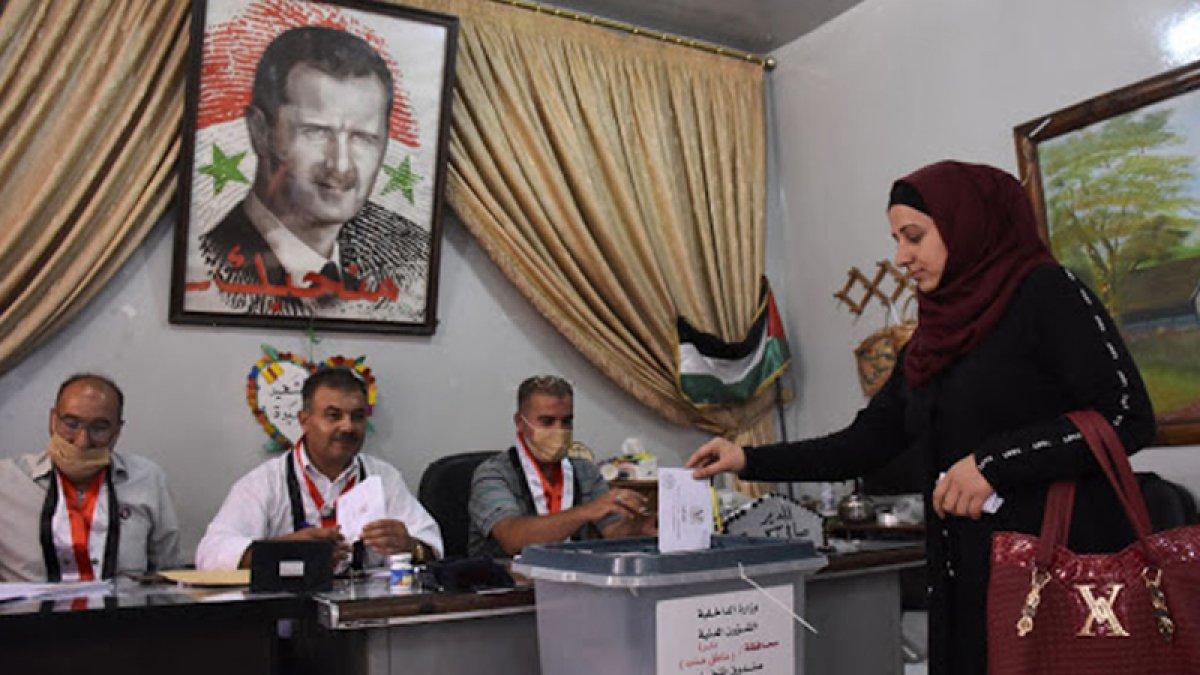 Suriye de devlet başkanlığı seçimleri başladı #6