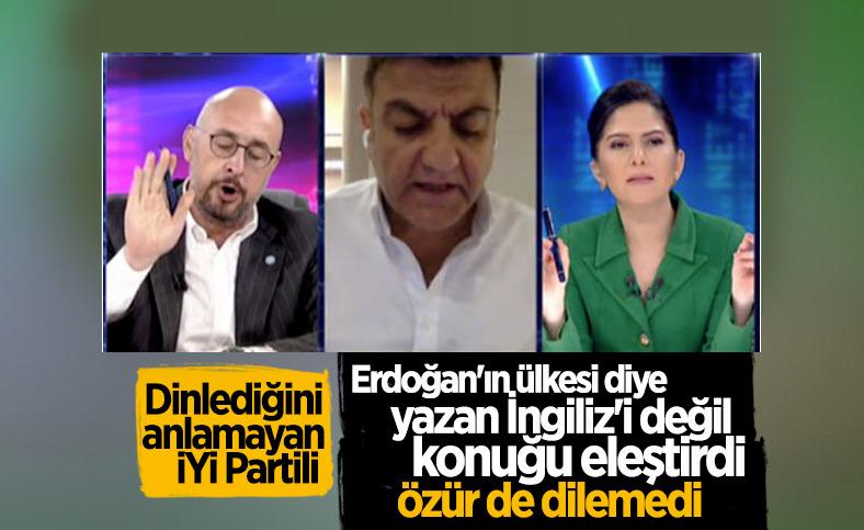 Habertürk'te 'Erdoğan'ın ülkesi' tartışması