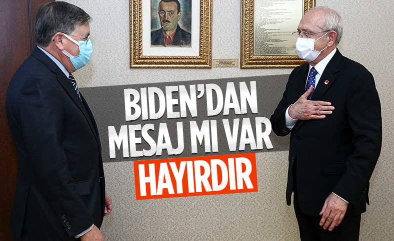 Kemal Kılıçdaroğlu, ABD'nin Türkiye Büyükelçisi ile görüştü