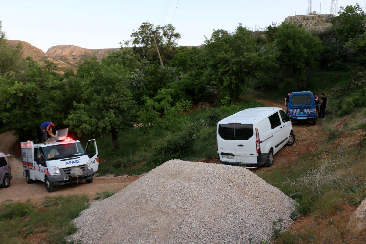 Malatya da kayıp gencin cesedi su kuyusunda bulundu #1