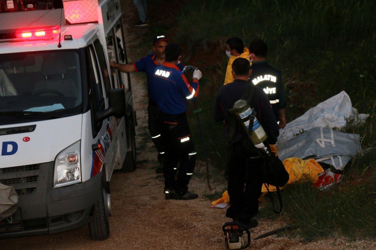 Malatya da kayıp gencin cesedi su kuyusunda bulundu #3