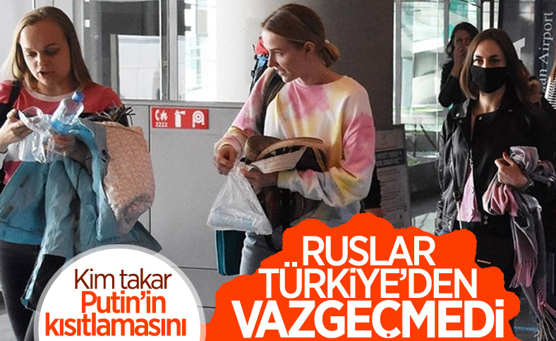 Rus turistlerin yüzde 60'tan fazlası Türkiye tatilinde ısrarcı