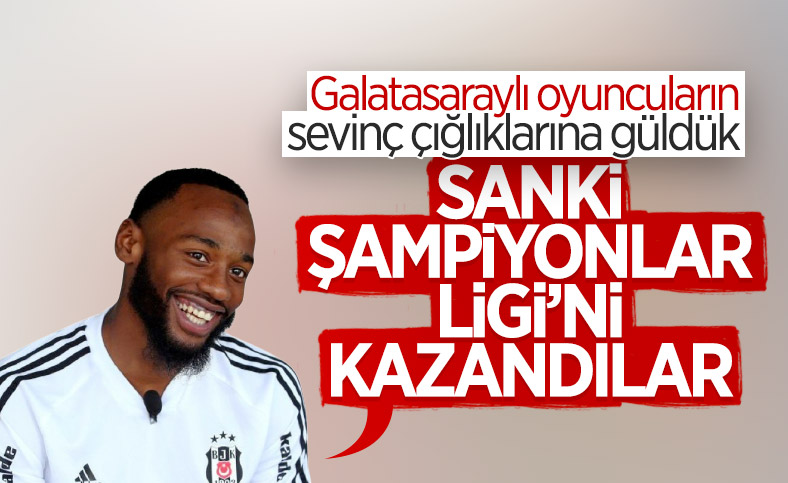N'Koudou: Galatasaraylı futbolculara güldük