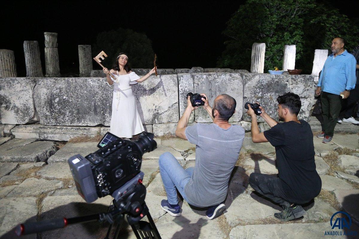 Muğla da Stratonikeia Antik Kenti nin belgesel çekimleri başladı #3