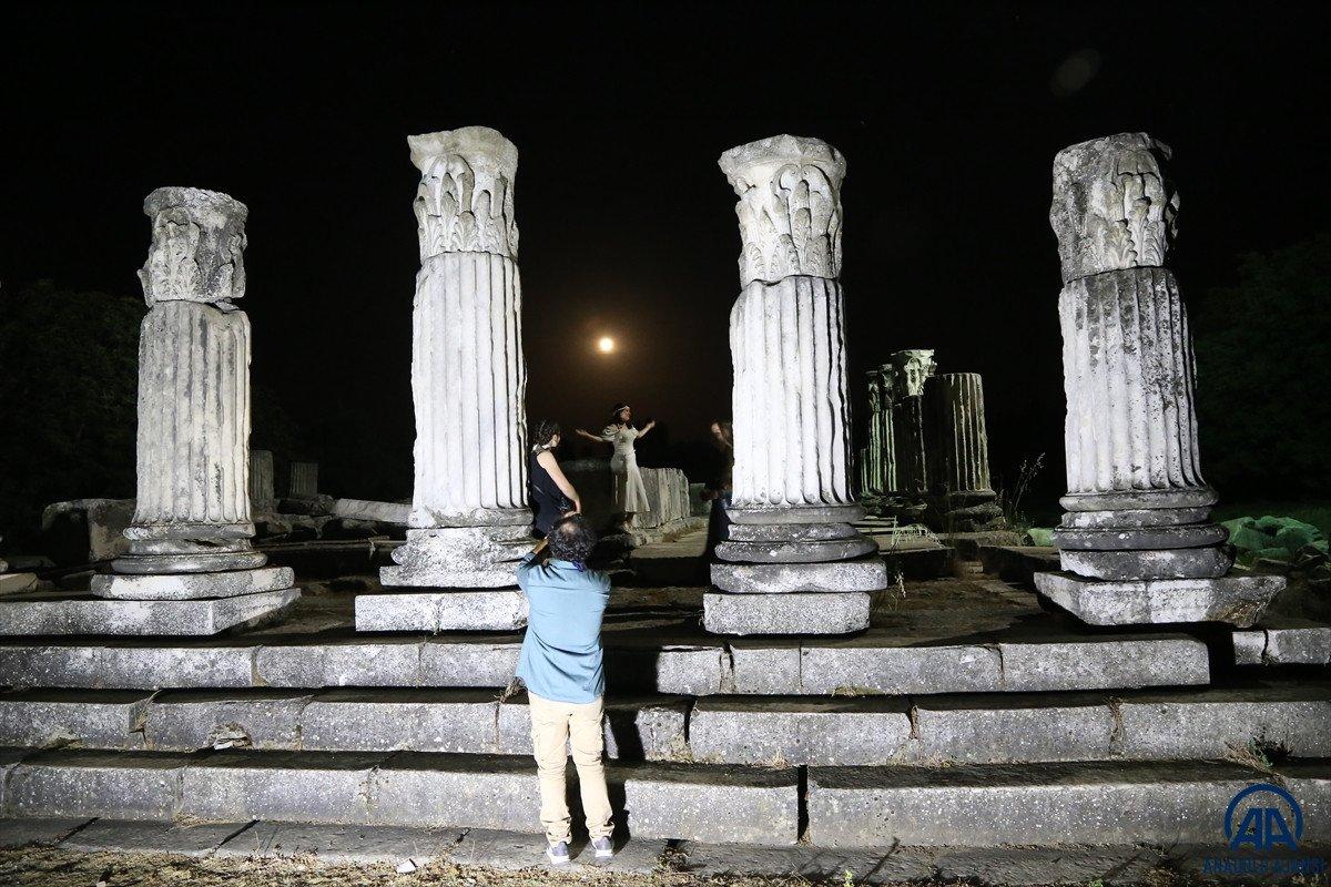 Muğla da Stratonikeia Antik Kenti nin belgesel çekimleri başladı #1