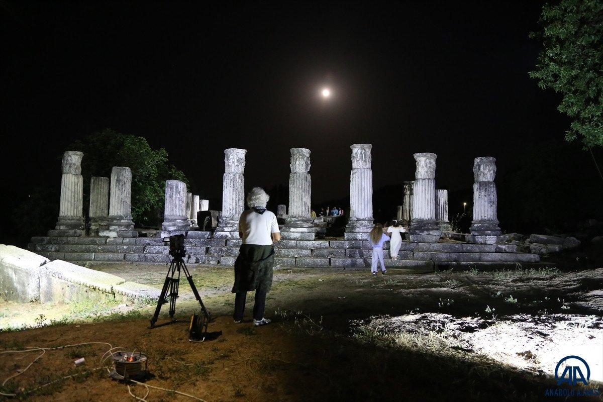Muğla da Stratonikeia Antik Kenti nin belgesel çekimleri başladı #4