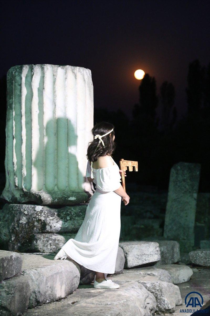 Muğla da Stratonikeia Antik Kenti nin belgesel çekimleri başladı #5