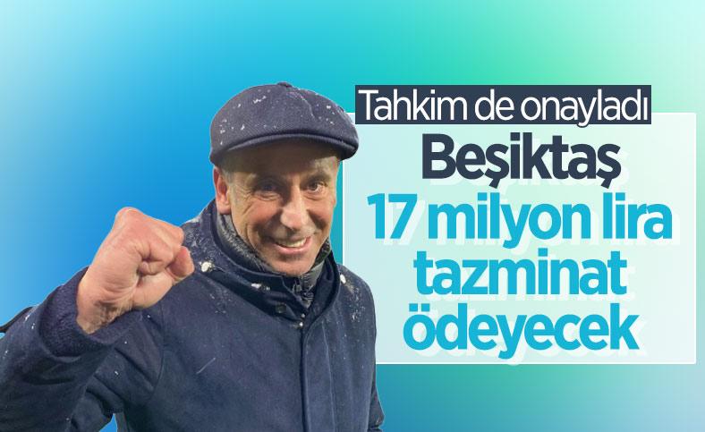 Tahkim Kurulu Beşiktaş'ın Abdullah Avcı'ya 17 milyon 130 bin lira ödemesine karar verdi