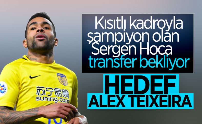 Beşiktaş'ın hedefindeki isim Alex Teixeira