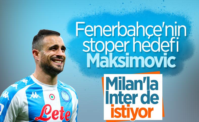 Fenerbahçe'nin stoper gündemi Maksimovic