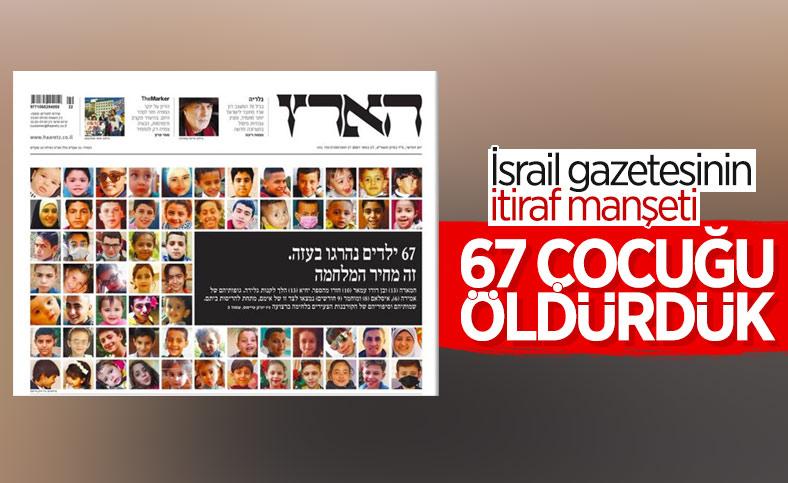 Haaretz, İsrail'in öldürdüğü Gazzeli çocukların fotoğraflarını paylaştı