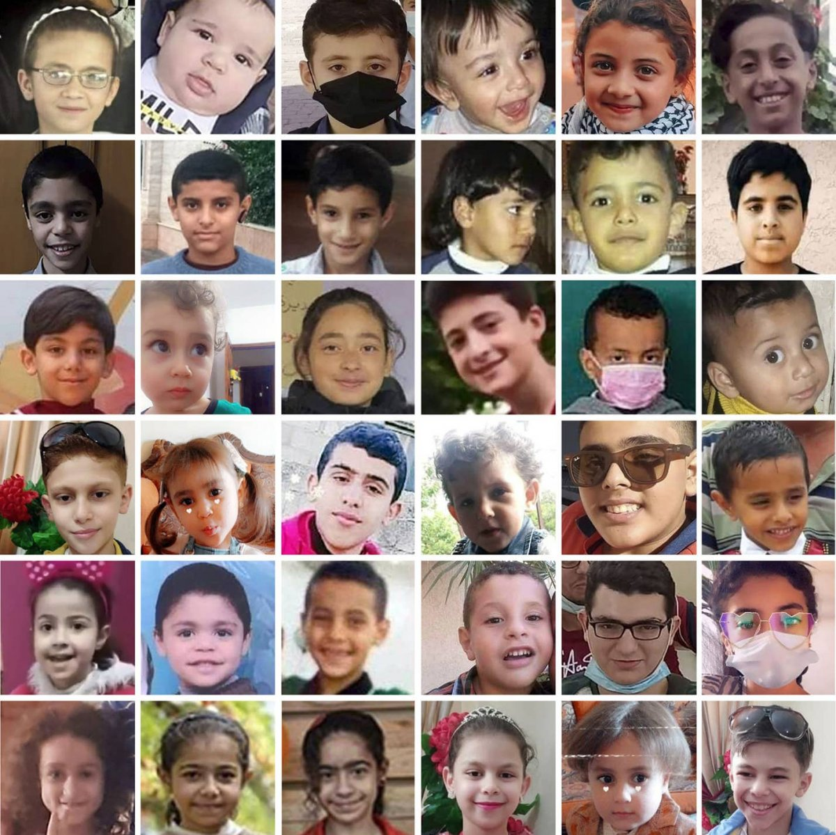 Haaretz, İsrail in öldürdüğü Gazzeli çocukların fotoğraflarını paylaştı #2