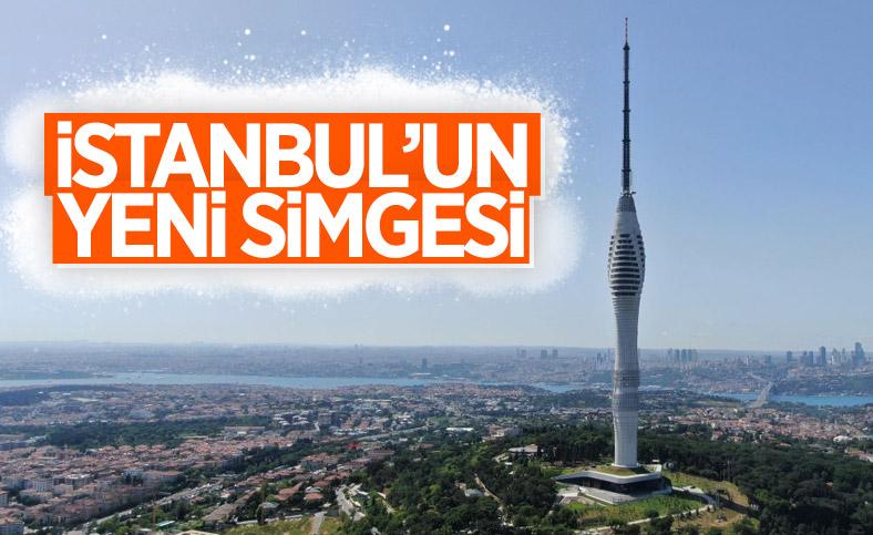 İstanbul'un yeni sembolu Çamlıca Kulesi'nde açılış için geri sayım