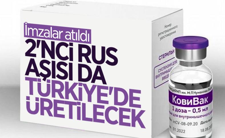 Turk İlaç, Rus koronavirüs aşısı CoviVac'ın üretimi için anlaşma yaptı