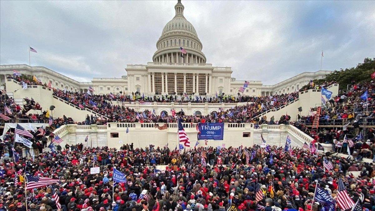 ABD deki kongre baskınında sanıkların yüzde 10 u orduyla bağlantılı çıktı #1