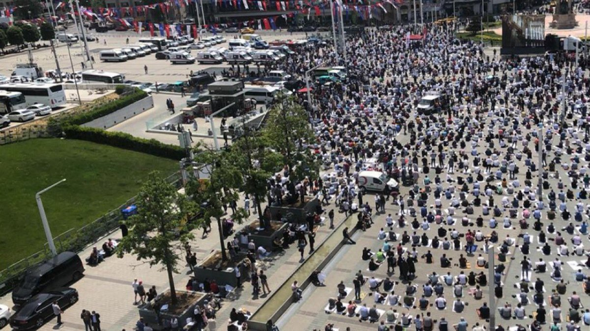 Taksim Camii nde açılış öncesi görüntüler #5