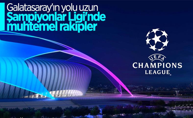 Galatasaray'ın Devler Ligi'ndeki muhtemel rakipleri