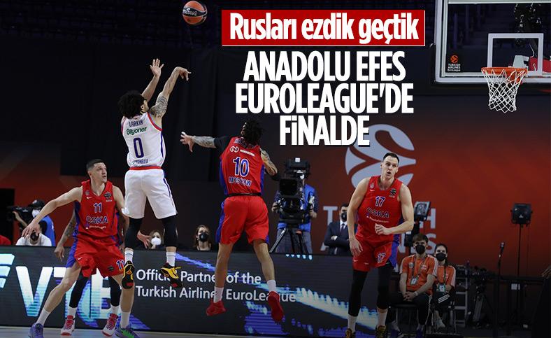 Euroleague'de Anadolu Efes finale yükseldi