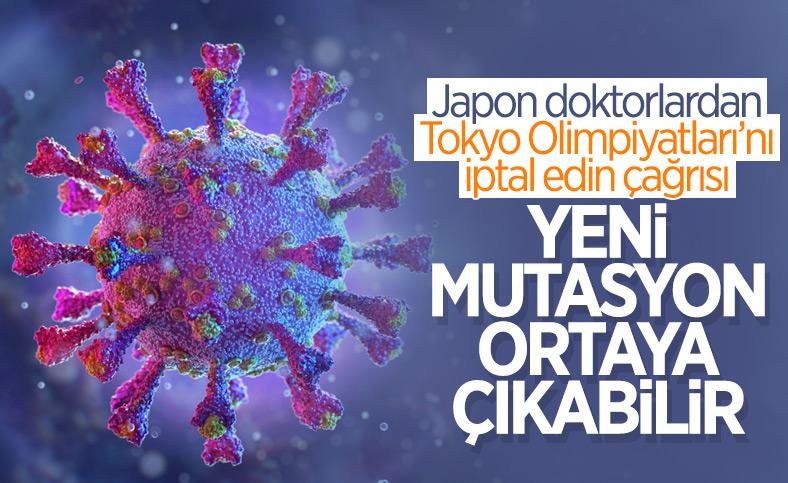 Japon doktorlardan Tokyo Olimpiyatları'nın iptal edilmesi çağrısı