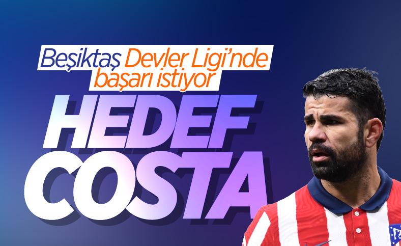 Beşiktaş, Diego Costa'yı istiyor