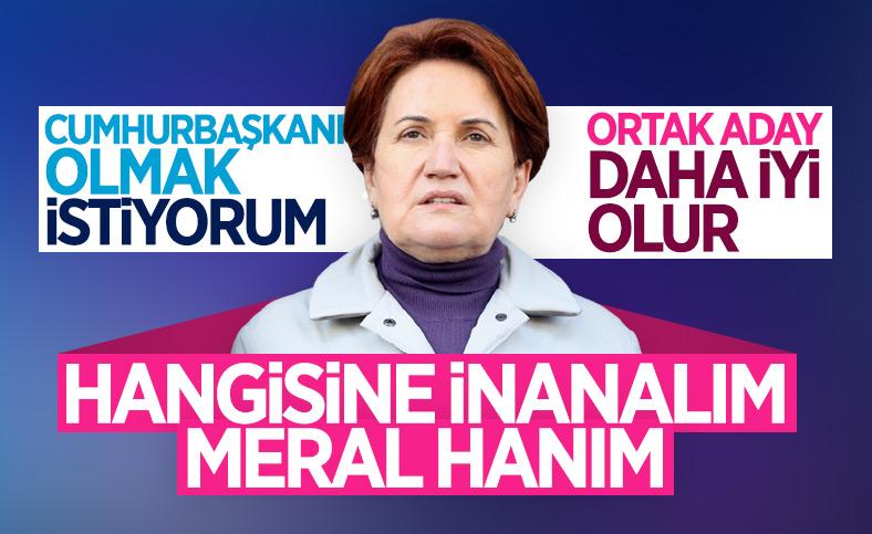 Meral Akşener'den 'Cumhurbaşkanlığı adaylığı' sorusuna yanıt