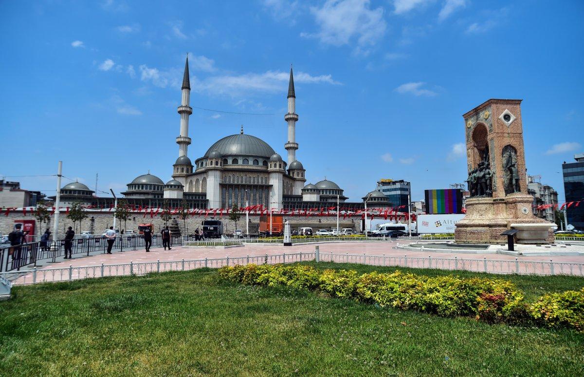 Taksim Camii nde açılış öncesi görüntüler #8