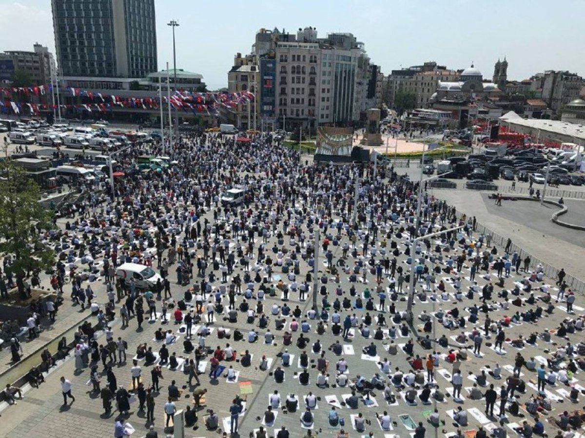 Taksim Camii nde açılış öncesi görüntüler #9