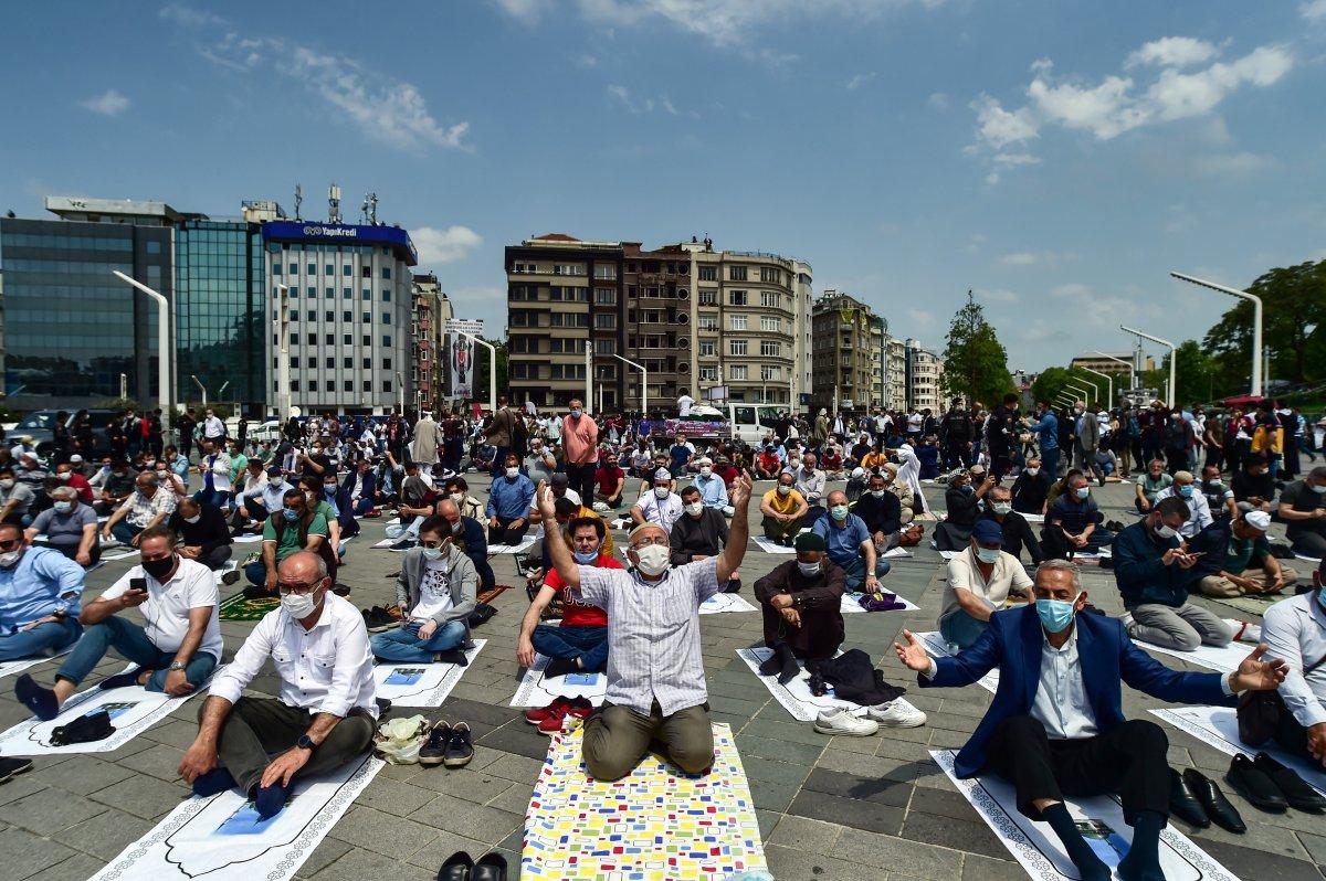 Taksim Camii nde açılış öncesi görüntüler #4