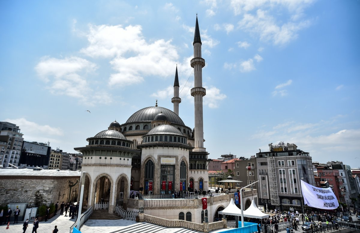 Taksim Camii nde açılış öncesi görüntüler #7